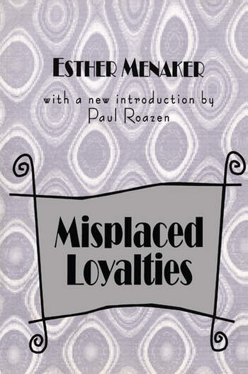 Misplaced Loyalties History of Ideas book cover