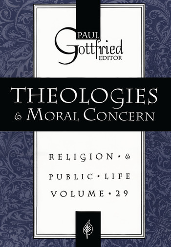 Theologies and Moral Concern book cover