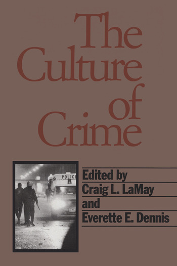 The Culture of Crime book cover