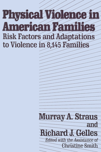 Physical Violence in American Families book cover