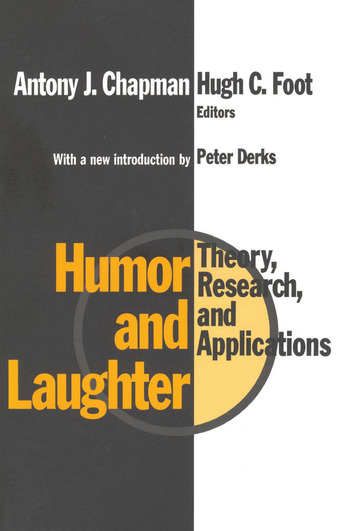 Humor and Laughter Theory, Research and Applications book cover