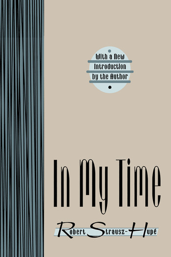 In My Time book cover