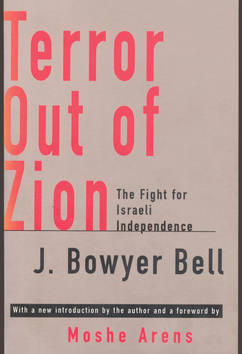 Terror Out of Zion Fight for Israeli Independence book cover