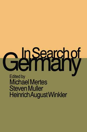 In Search of Germany book cover