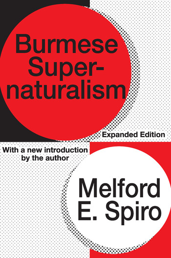 Burmese Supernaturalism book cover