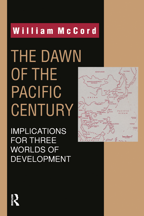 The Dawn of the Pacific Century book cover