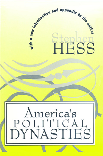 America's Political Dynasties book cover