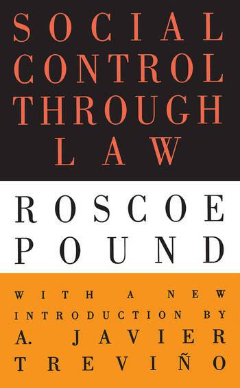 Social Control Through Law book cover