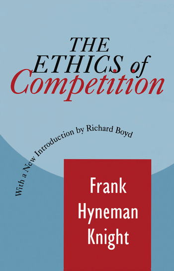 The Ethics of Competition book cover