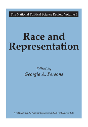Race and Representation book cover