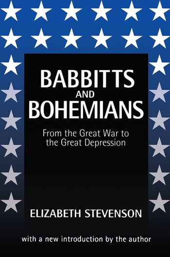 Babbitts and Bohemians from the Great War to the Great Depression book cover