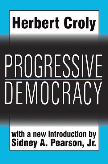 Progressive Democracy book cover