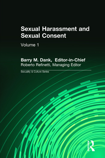 Sexual Harassment and Sexual Consent book cover