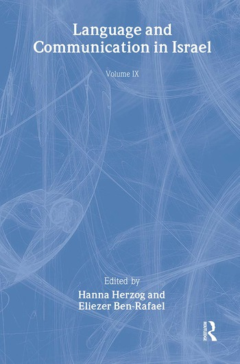 Language and Communication in Israel book cover