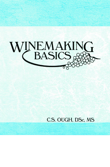 Winemaking Basics book cover