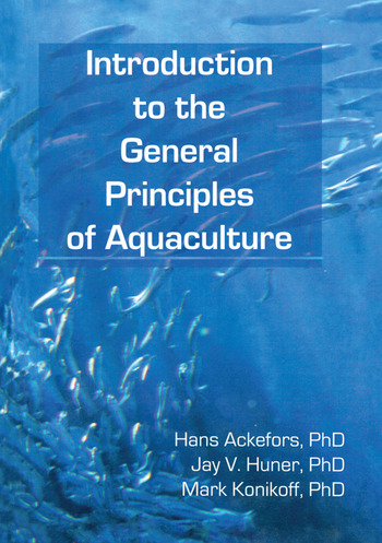 Introduction to the General Principles of Aquaculture book cover