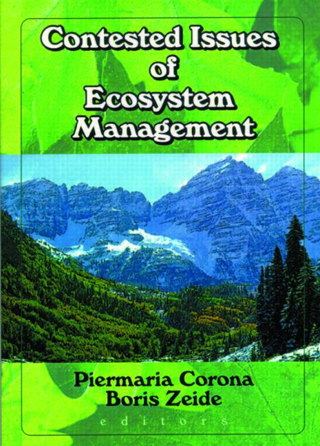 Contested Issues of Ecosystem Management book cover