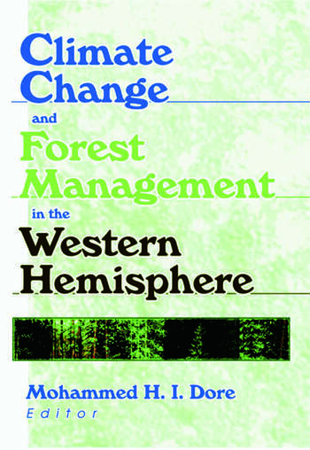 Climate Change and Forest Management in the Western Hemisphere book cover