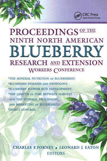 Proceedings of the Ninth North American Blueberry Research and Extension Workers Conference book cover