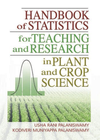 Handbook of Statistics for Teaching and Research in Plant and Crop Science book cover