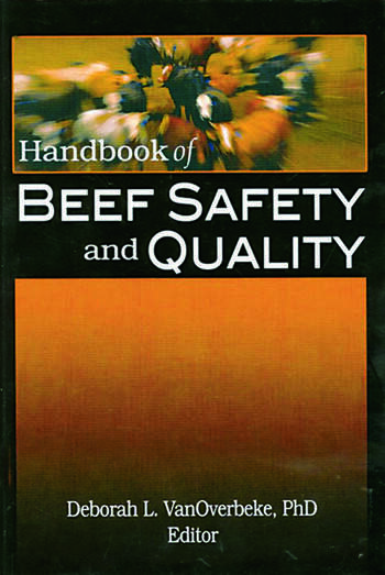 Handbook of Beef Safety and Quality book cover