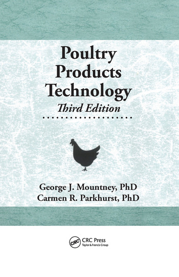 Poultry Products Technology Third Edition book cover