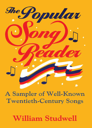 The Popular Song Reader A Sampler of Well-Known Twentieth-Century Songs book cover