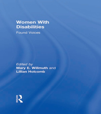 Women With Disabilities Found Voices book cover