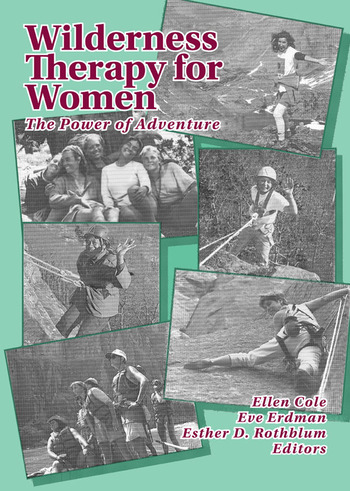 Wilderness Therapy for Women The Power of Adventure book cover