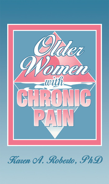 Older Women With Chronic Pain book cover