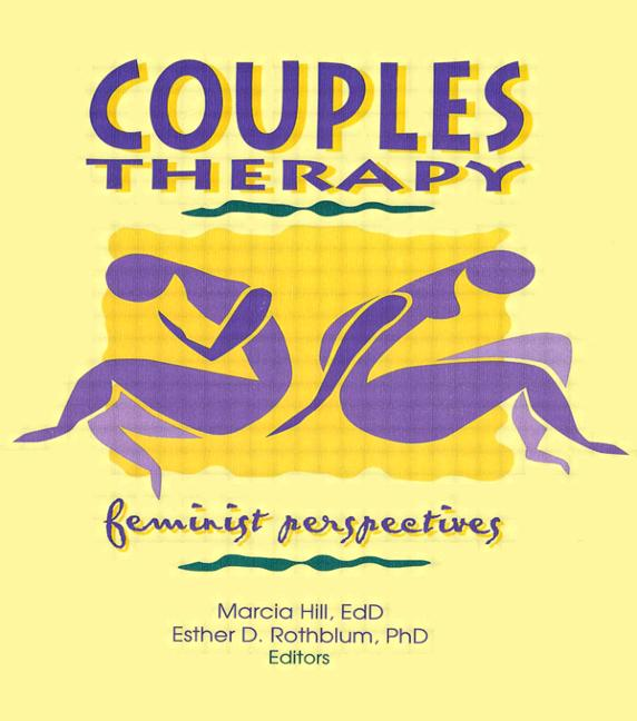 Couples Therapy Feminist Perspectives book cover