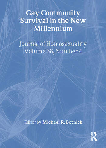 Gay Community Survival in the New Millennium book cover