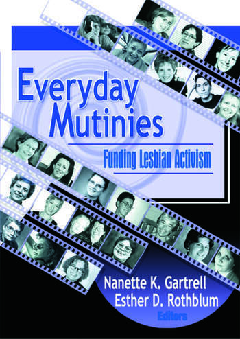 Everyday Mutinies Funding Lesbian Activism book cover