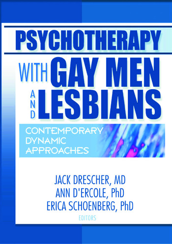 Psychotherapy with Gay Men and Lesbians Contemporary Dynamic Approaches book cover