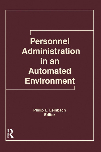 Personnel Administration in an Automated Environment book cover