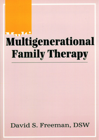 Multigenerational Family Therapy book cover