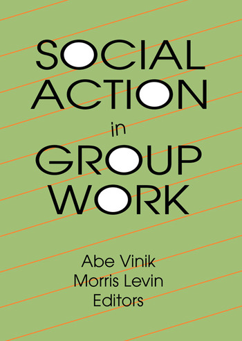 Social Action in Group Work book cover