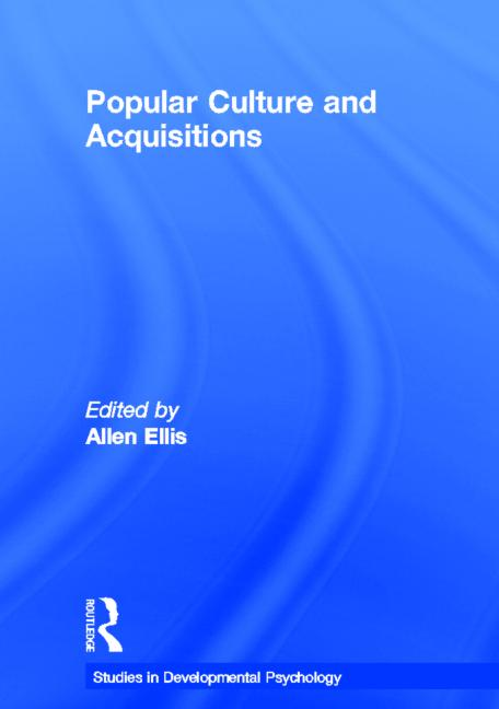 Popular Culture and Acquisitions book cover