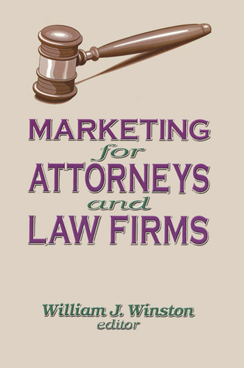 Marketing for Attorneys and Law Firms book cover