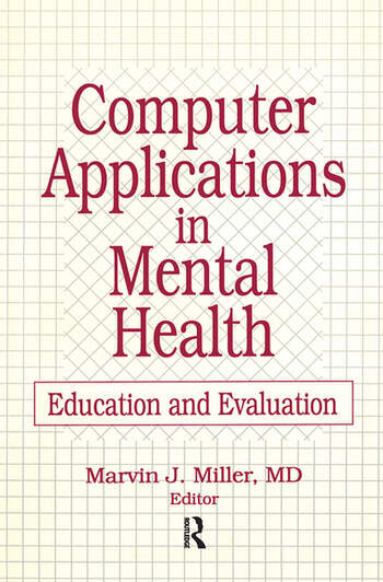 Computer Applications in Mental Health Education and Evaluation book cover