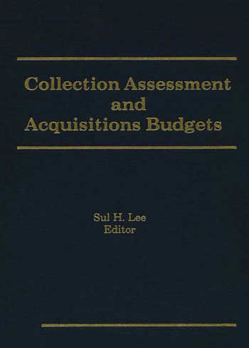 Collection Assessment and Acquisitions Budgets book cover