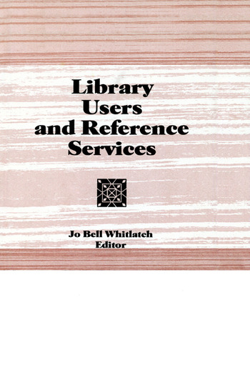 Library Users and Reference Services book cover