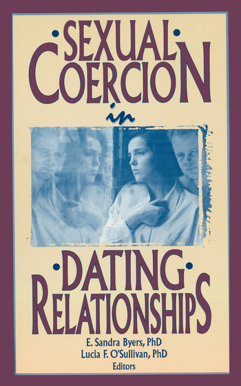 Sexual Coercion in Dating Relationships book cover