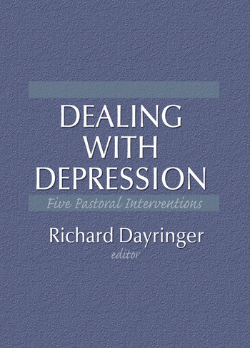 Dealing with Depression Five Pastoral Interventions book cover