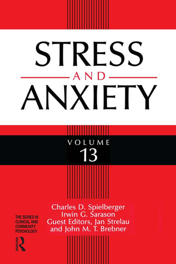 Stress And Anxiety book cover