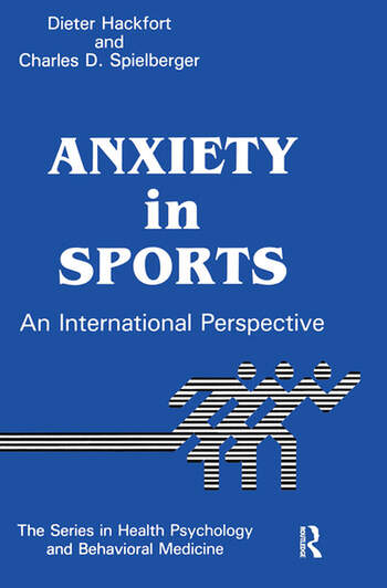 Anxiety In Sports An International Perspective book cover