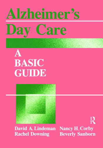Alzheimer's Day Care A Basic Guide book cover