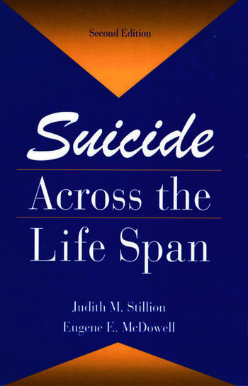Suicide Across The Life Span Premature Exits book cover