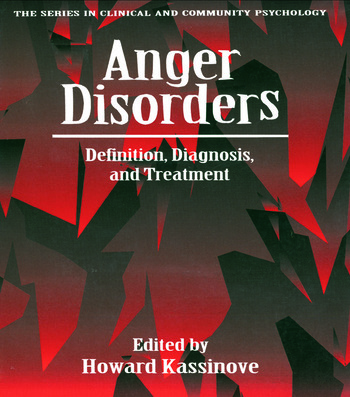 Anger Disorders Definition, Diagnosis, And Treatment book cover