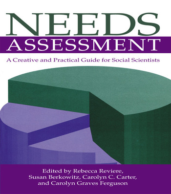 Needs Assessment A Creative And Practical Guide For Social Scientists book cover